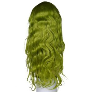 Emerald Green Lacefront Wig